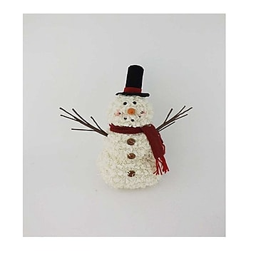 Craft Outlet Fabric Snowman Decor