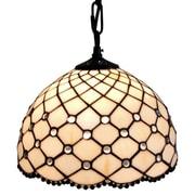 AmoraLighting 1-Light Bowl Pendant