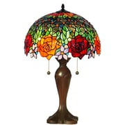 AmoraLighting Roses 23'' Table Lamp