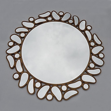 Winport Industries Round Drop Mirror