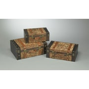 AA Importing 3 Piece Trunk Set
