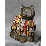 AA Importing Tiffany Cat 9'' Table Lamp