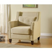 A&J Homes Studio Gabriel Armchair; Beige