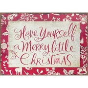 Jozie B Merry and Bright Christmas Textual Art