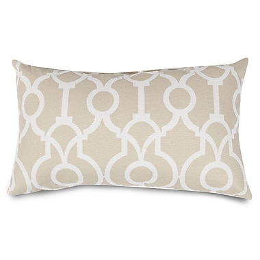 Majestic Home Goods Athens Lumbar Pillow; Sand