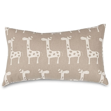 Majestic Home Goods Stretch Lumbar Pillow; Maple