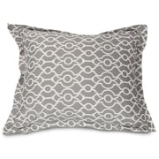 Majestic Home Goods Athens Floor Pillow; Gray