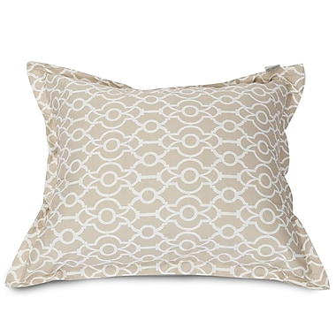 Majestic Home Goods Athens Floor Pillow; Sand