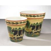AA Importing 2 Piece Ceramic Pot Planter Set