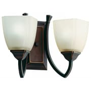 Lithonia Lighting Piedmount Two Light Vanity in Antique Bronze