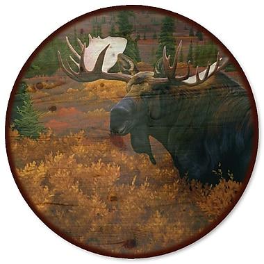 WGI GALLERY Denali Autumn Moose Lazy Susan