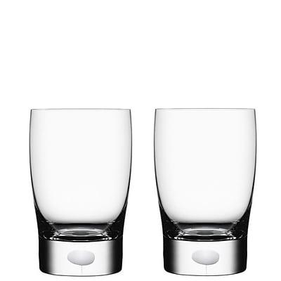 Orrefors Intermezzo Water/Juice Glass (Set of 2); Satin WYF078278929636