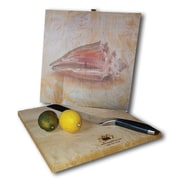 WGI GALLERY Sea Shell #2 12'' x 12'' Cutting Board