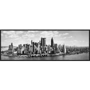 Global Gallery 'Manhattan Waterfront' Framed Photographic Print