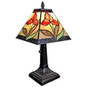 AmoraLighting Floral 14.5'' Table Lamp