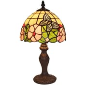 AmoraLighting Floral 15'' Table Lamp