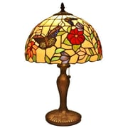 AmoraLighting Butterflies 19'' Table Lamp