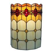 AmoraLighting Geometric 2-Light Wall Sconce