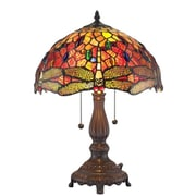 AmoraLighting Dragonfly 18.5'' Table Lamp