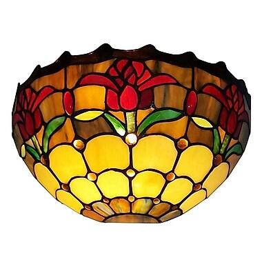 AmoraLighting Tulips 1-Light Wall Sconce