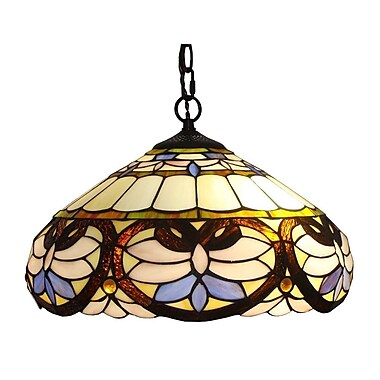 AmoraLighting 2-Light Bowl Pendant