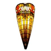 AmoraLighting Crowned 2-Light Wall Sconce