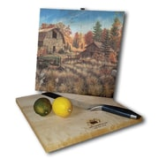WGI GALLERY Deer Valley 12'' x 12'' Cutting Board