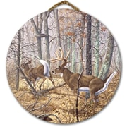 WGI GALLERY 'Autumn Pursuit' Painting Print on Wood