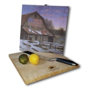 WGI GALLERY Enduring Legancy Barn 12'' x 12'' Cutting Board