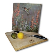 WGI GALLERY Summer Hummer 12'' x 12'' Cutting Board
