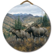 WGI GALLERY 'Working the Ridge' Painting Print on Wood