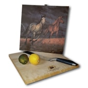 WGI GALLERY Lightning 12'' x 12'' Cutting Board