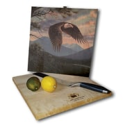 WGI GALLERY Majestic Moment 12'' x 12'' Cutting Board