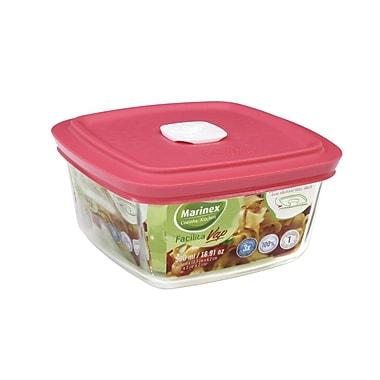Marinex Facilita Square 17 Oz. Food Storage Container