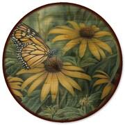 WGI GALLERY Monarch Butterfly Lazy Susan