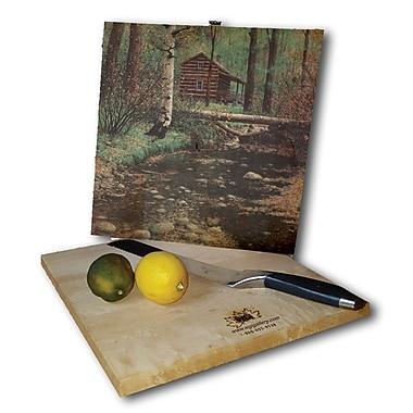 WGI GALLERY Autumn Hideaway 12'' x 12'' Cutting Board