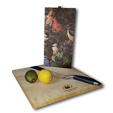WGI GALLERY Berry Bush Songbirds 12'' x 6'' Cutting Board
