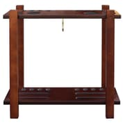 Hathaway Games Billiard Accessory Storage Rack; Antique Walnut