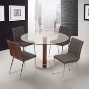 Armen Living Caf  Dining Table