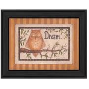 Trendy Decor 4U 'Dream' Framed Graphic Art Print on Canvas