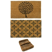 Rubber-Cal, Inc. 3 Piece French Country Doormat Set (Set of 3)