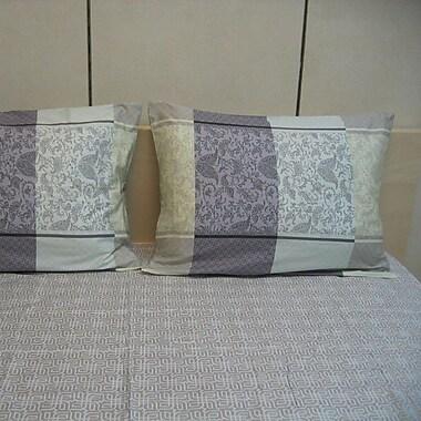 DaDa Bedding Paisley 200 Thread Count Cotton Sheet Set; Queen
