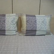 DaDa Bedding Paisley 200 Thread Count Cotton Fitted Sheet Set; Queen