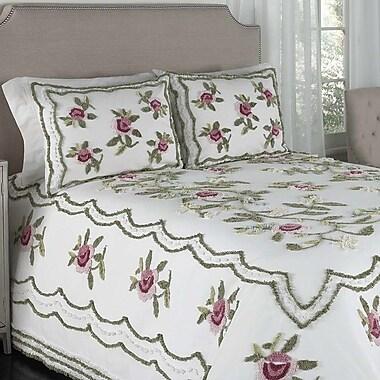 Beatrice Chenille Bedspread; Twin