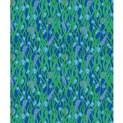 Island Girl Home Coastal Green Seaweed Fleece Throw Blanket