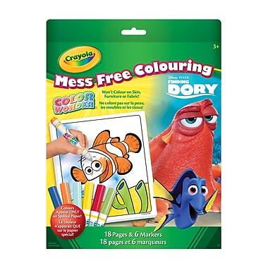CrayolaMD– Livre à colorier et marqueurs Color WonderMC, Trouver Doris