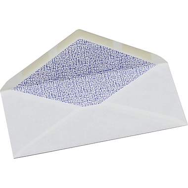 Simply™ #10 White Security Envelopes, 4-1/8
