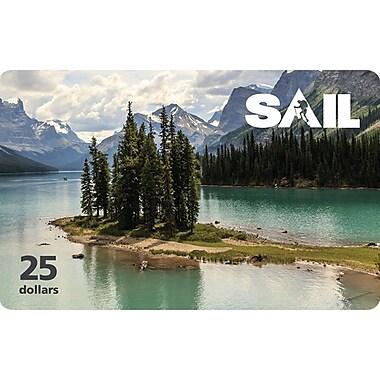 SAIL - Carte-cadeau de 25 $