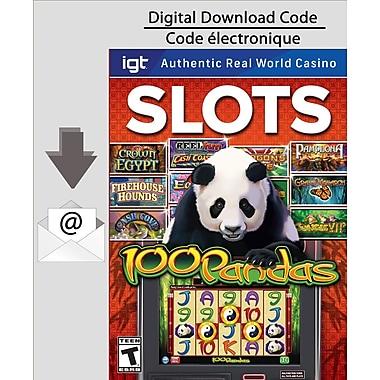 Encore IGT Slots: 100 Pandas, Mac [Download]