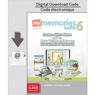 Encore MyMemories Suite v6 with Creativity Collection, PC [Download]